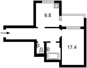 Квартира Волынская, 10, Киев, X-17078 - Фото 3