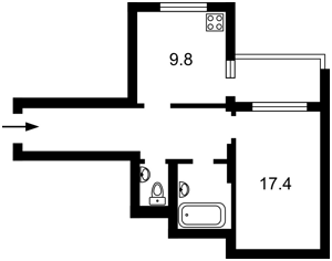 Квартира Волынская, 10, Киев, X-17078 - Фото2