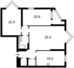 Apartment Konovalcia Evhena (Shchorsa), 32г, Kyiv, N-21583 - Photo2