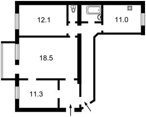 Apartment Honchara Olesia, 30б, Kyiv, Z-601413 - Photo2