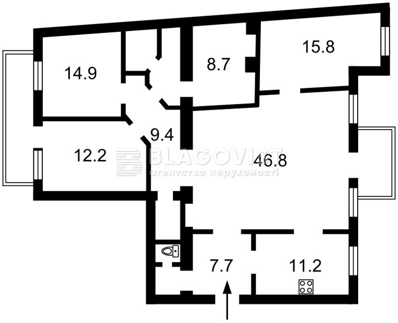 Квартира D-35545, Ярославів Вал, 17б, Київ - Фото 2