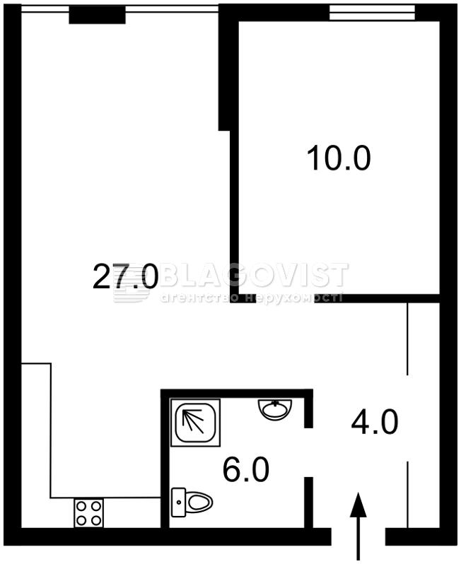 Квартира C-107164, Регенераторная, 4 корпус 2, Киев - Фото 6