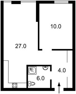 Квартира Регенераторна, 4 корпус 2, Київ, C-107164 - Фото2