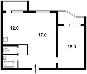 Квартира Ахматової Анни, 16б, Київ, H-18161 - Фото2