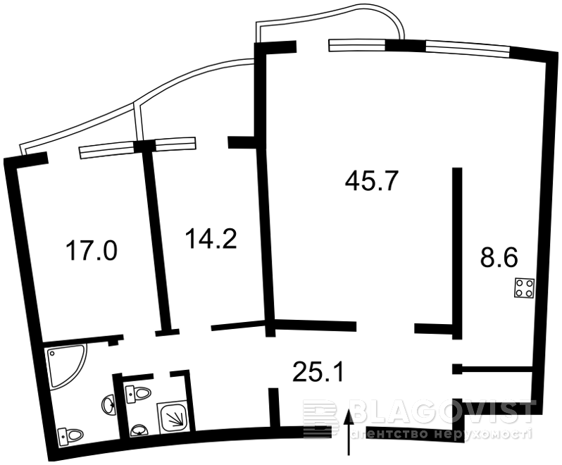 Квартира F-42604, Мельникова, 18б, Киев - Фото 6