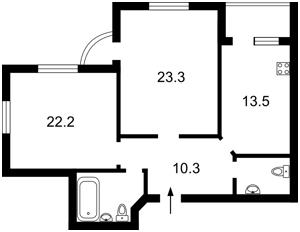 Квартира Чаадаева Петра, 2в, Киев, R-30958 - Фото2