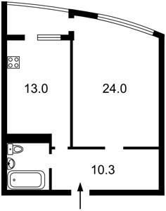 Квартира Верховного Совета бульв., 14б, Киев, Z-1220584 - Фото2