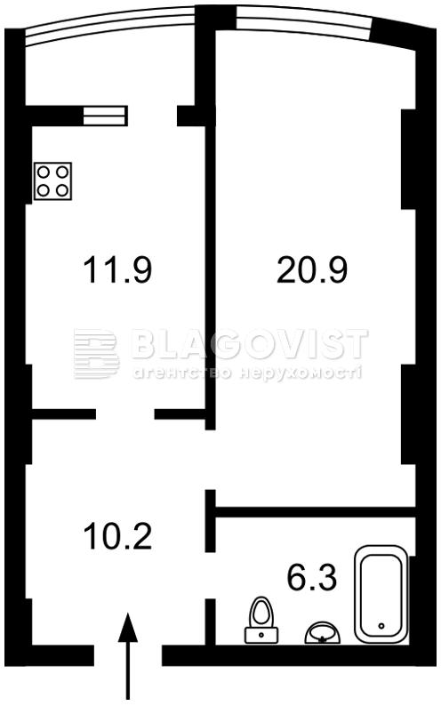 Квартира A-79469, Победы просп., 131, Киев - Фото 5