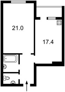Квартира D-35869, Лаврухина, 12, Киев - Фото 4