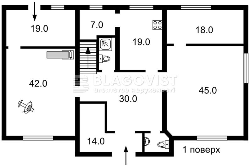 Дом R-26502, Козин (Конча-Заспа) - Фото 2