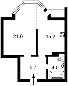 Квартира Волинська, 9а, Київ, Z-790665 - Фото2