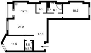 Квартира Вышгородская, 45а/3, Киев, Z-683870 - Фото2