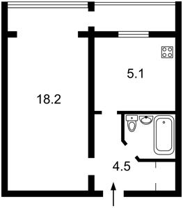 Apartment Bohatyrska, 2, Kyiv, R-30910 - Photo2
