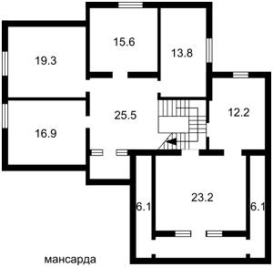 Дом Апрельская, Ходосовка, Z-1010274 - Фото2