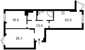 Квартира D-35890, Липкивского Василия (Урицкого), 18, Киев - Фото 5