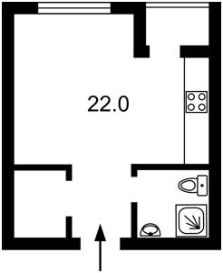 Квартира Регенераторная, 4 корпус 4, Киев, Z-621388 - Фото2