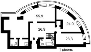 Квартира Срибнокильская, 12, Киев, A-110915 - Фото2