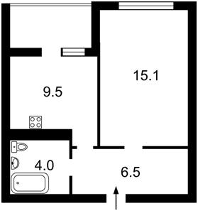 Квартира Тираспольська, 58, Київ, Z-585686 - Фото2