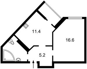Квартира Вышгородская, 45, Киев, Z-1442704 - Фото2