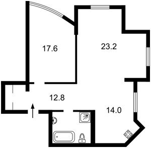 Квартира Оболонський просп., 54, Київ, R-22420 - Фото2
