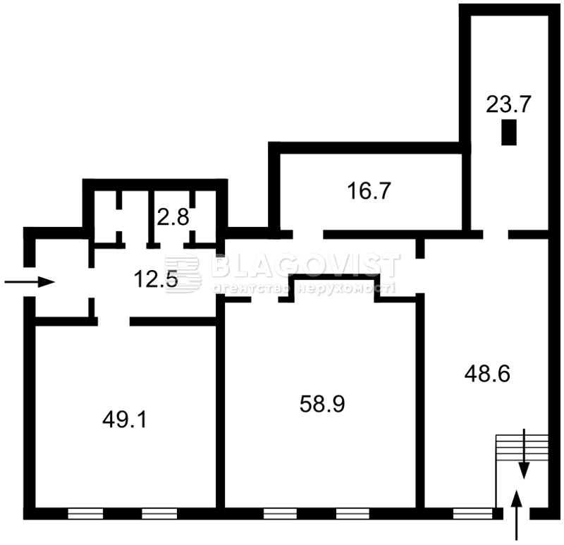 Нежилое помещение, Черновола Вячеслава, Киев, R-31102 - Фото 2