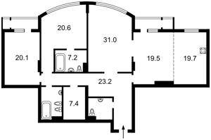 Квартира Шевченко Тараса бульв., 27б, Киев, F-42652 - Фото2