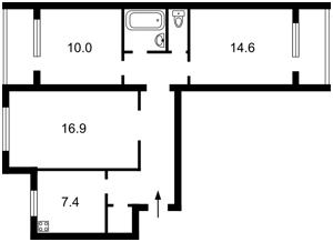 Квартира Здолбуновская, 7а, Киев, R-29760 - Фото2