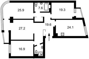 Квартира Московська, 46/2, Київ, C-107176 - Фото2
