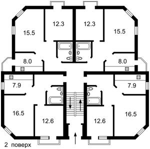 Будинок Богатирська, Київ, H-46184 - Фото 5