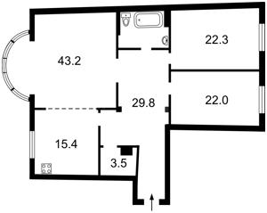 Квартира Златоустовская, 50, Киев, Z-27162 - Фото2