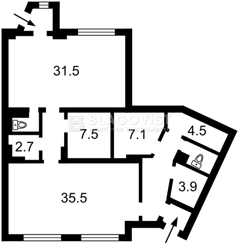 Нежилое помещение, C-81490, Булаховского Академика, Киев - Фото 4