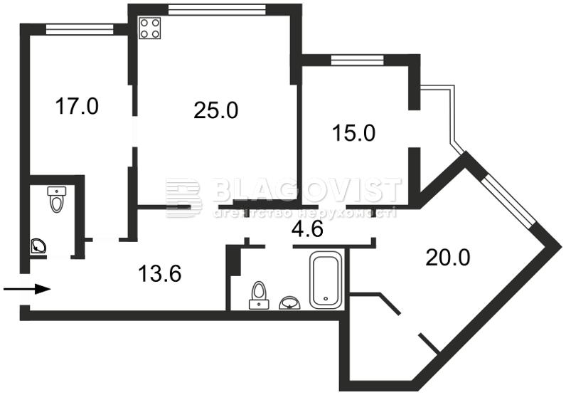 Квартира Z-742202, Княжий Затон, 21, Киев - Фото 6