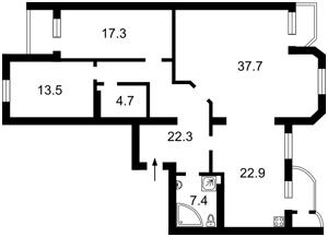 Квартира Татарська, 7, Київ, Z-617067 - Фото2