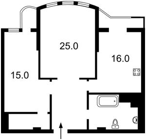 Квартира Панаса Мирного, 17, Київ, F-42602 - Фото2