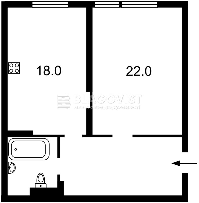 Квартира E-39246, Регенераторная, 4 корпус 10, Киев - Фото 6