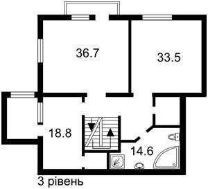 Квартира Бехтеревський пров., 14, Київ, R-30796 - Фото 4