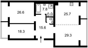 Квартира Виноградный пер., 4, Киев, R-31335 - Фото2