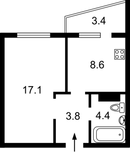 Нежилое помещение, Гмыри Бориса, Киев, H-46240 - Фото2