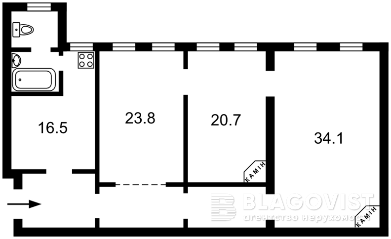 Квартира Z-621078, Победы просп., 37/1, Киев - Фото 3