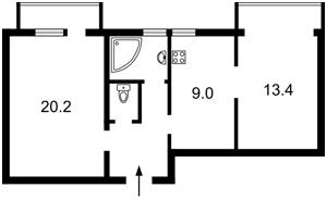 Квартира Предславинська, 38, Київ, Z-584339 - Фото2