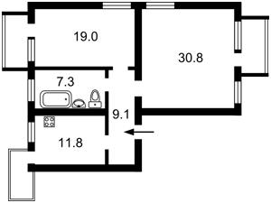 Квартира Верховинная, 84, Киев, Z-599138 - Фото2