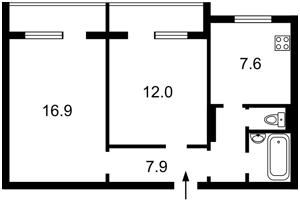 Квартира Татарская, 38, Киев, Z-561458 - Фото2
