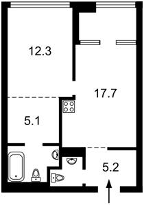 Квартира Заречная, 2 корпус 2, Киев, Z-630666 - Фото2