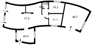 Дом R-31010, Глебовка - Фото 2