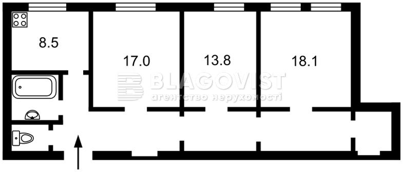 Квартира R-31591, Городецького Архітектора, 11б, Київ - Фото 4