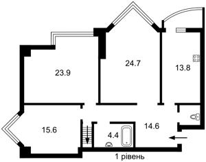 Квартира Бульварно-Кудрявская (Воровского) , 11а, Киев, Z-617615 - Фото2
