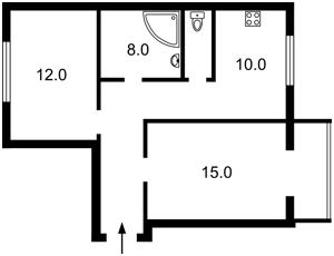 Квартира Грушевского Михаила, 34/1, Киев, Z-628612 - Фото2