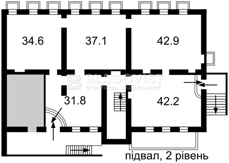 Нежилое помещение, H-46365, Михайловская, Киев - Фото 3