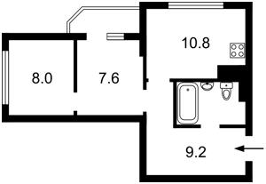 Квартира Сикорского Игоря (Танковая), 4б, Киев, Z-570812 - Фото2