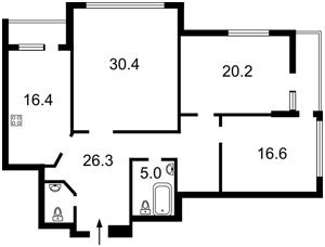 Квартира Перова бул., 10а, Київ, Z-610268 - Фото2